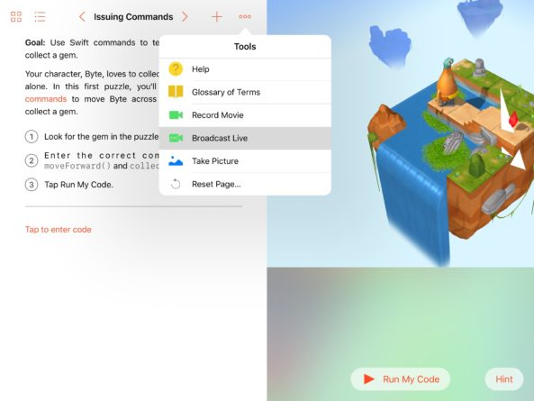 swift_playgrounds_live_streaming
