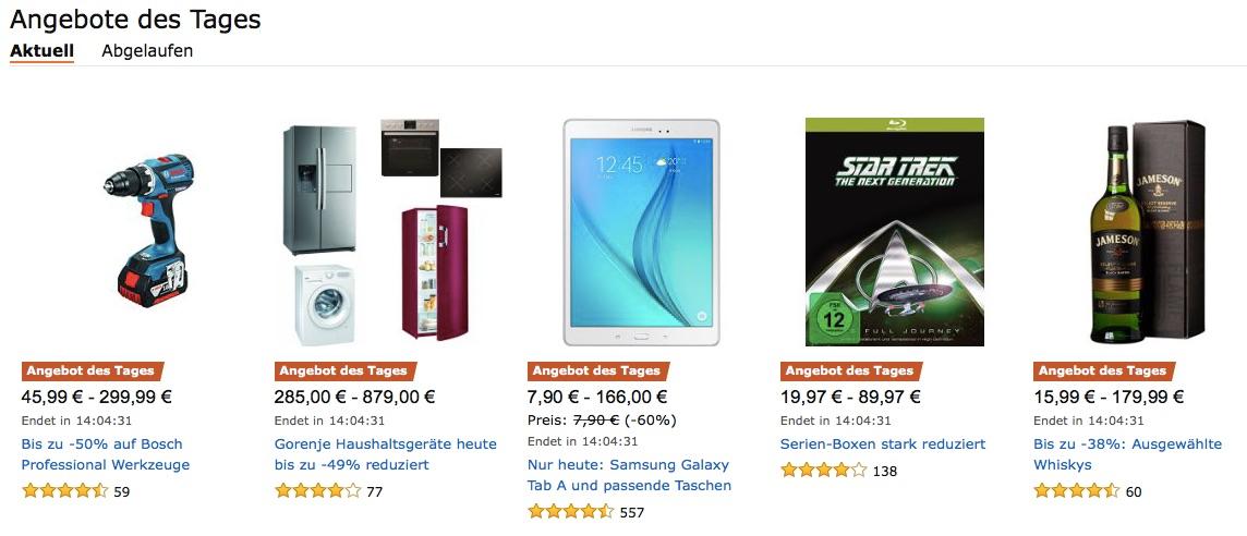Amazon Herbst-Angebote-Woche gestartet + Blitzangebote ...