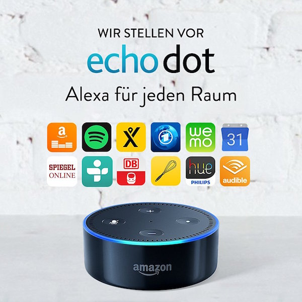 echo dot im dreierpack 30 euro billiger multi room. Black Bedroom Furniture Sets. Home Design Ideas