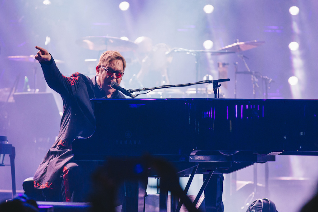 Elton John performs at Apple Music Festival London, 18 September 2016, Photo by: Danny North © APPLE.