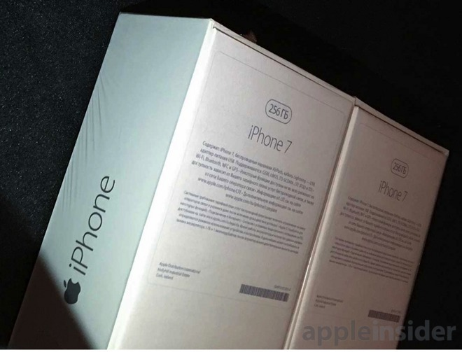 weitere iphone 7 verpackungen tauchen auf airpods und 256gb speicher macerkopf. Black Bedroom Furniture Sets. Home Design Ideas