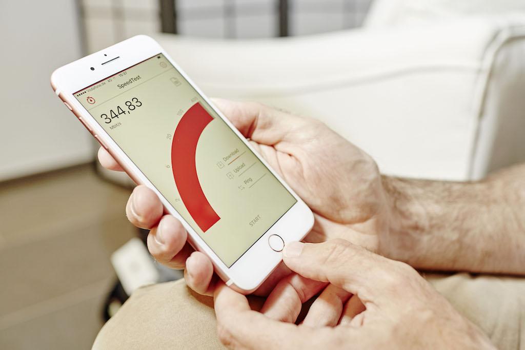 Vodafone Gigabit Iphone7 Speedtest