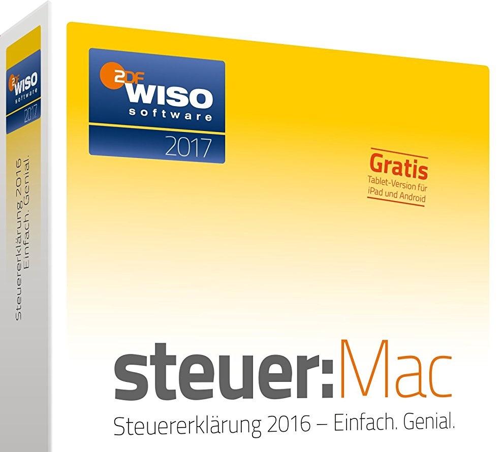 WISO Steuer:Mac 2017 ist da: Steuererklärung für das Jahr ...