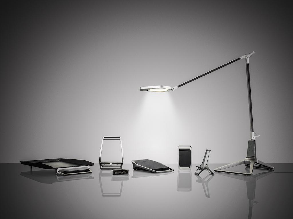 leitz style led schreibtischlampe mit app steuerung macerkopf. Black Bedroom Furniture Sets. Home Design Ideas