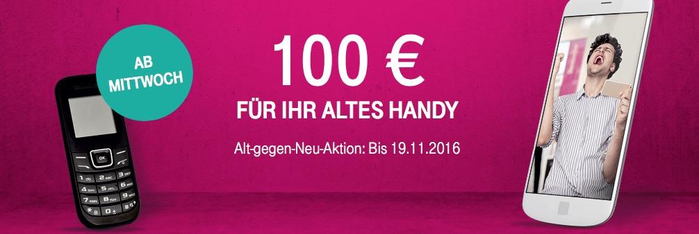 iphone 7 billiger kaufen 100 euro gutschrift f r altes handy von der telekom erhalten macerkopf. Black Bedroom Furniture Sets. Home Design Ideas