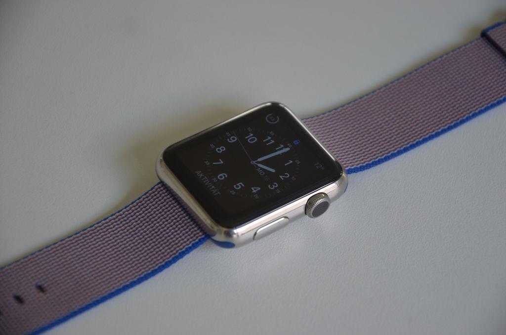 ausprobiert gewebtes nylonarmband milanaise armband f r. Black Bedroom Furniture Sets. Home Design Ideas
