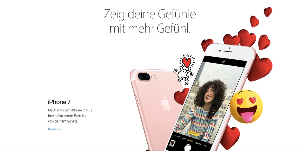 Geschenke zum Valentinstag: Apple bewirbt Produkte › Macerkopf
