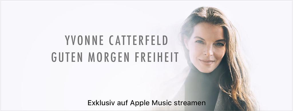 Exklusiv Bei Apple Music Neues Yvonne Catterfeld Album