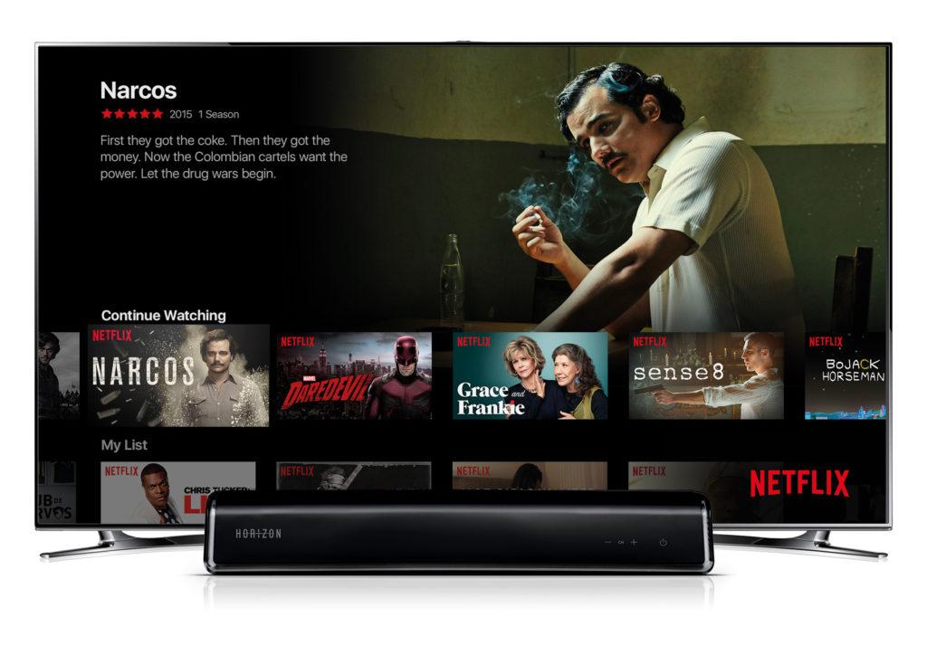 Unitymedia bringt Netflix auf Horizon-Box