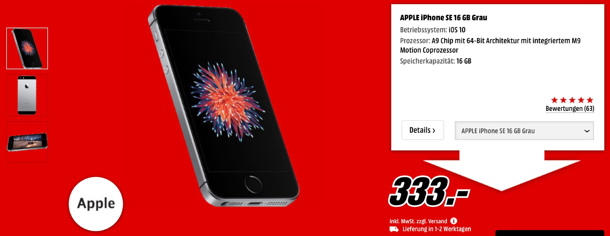Iphone S Black Friday Media Markt
