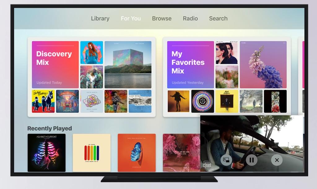 Apple TV 4: Kommen PiP und Multi-User-Unterstützung in tvOS 11?