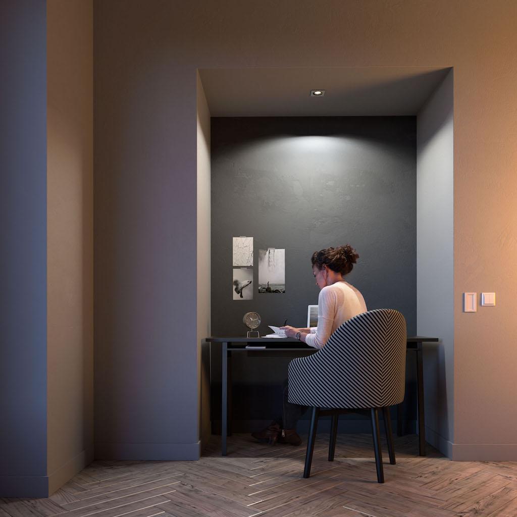 philips hue milliskin philips stellt neue smarte einbauspots vor macerkopf. Black Bedroom Furniture Sets. Home Design Ideas