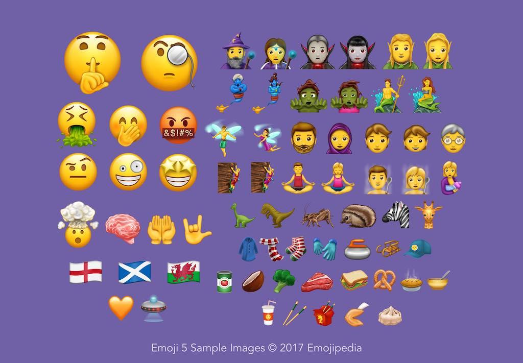 Bitcoin, Dinosaurier, Kopftuch: Das sind die neuen Emojis