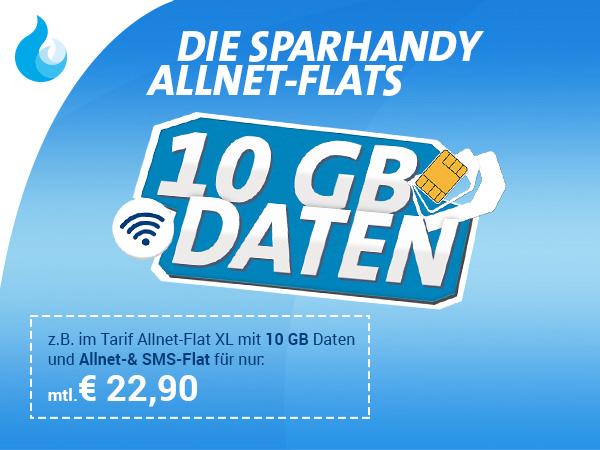 Congstar Aktion: Allnet-Flat mit 10GB Internet-Flat