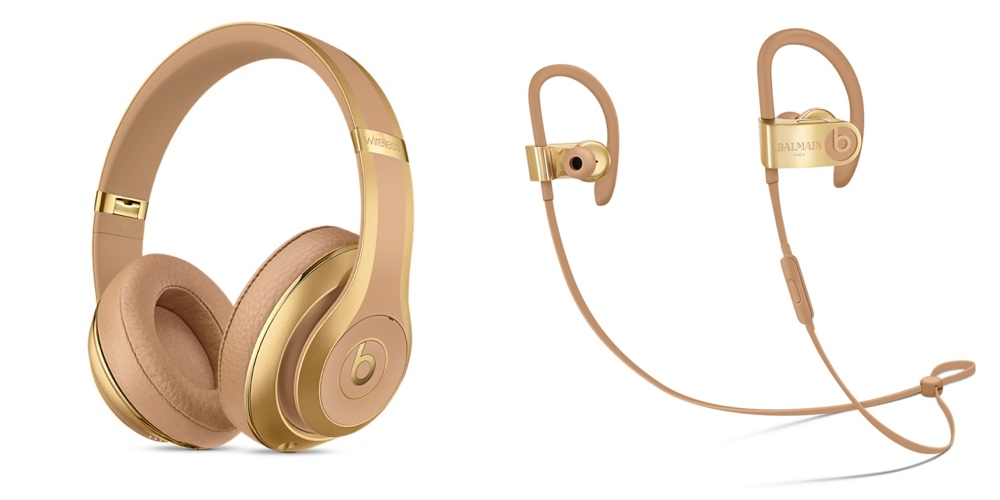 gold iphone headphones beats und balmain sonderedition der beats studio wireless 3153