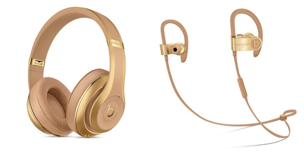 Beats in Kooperation mit Balmain: Zwei neue exklusive Kopfhörer