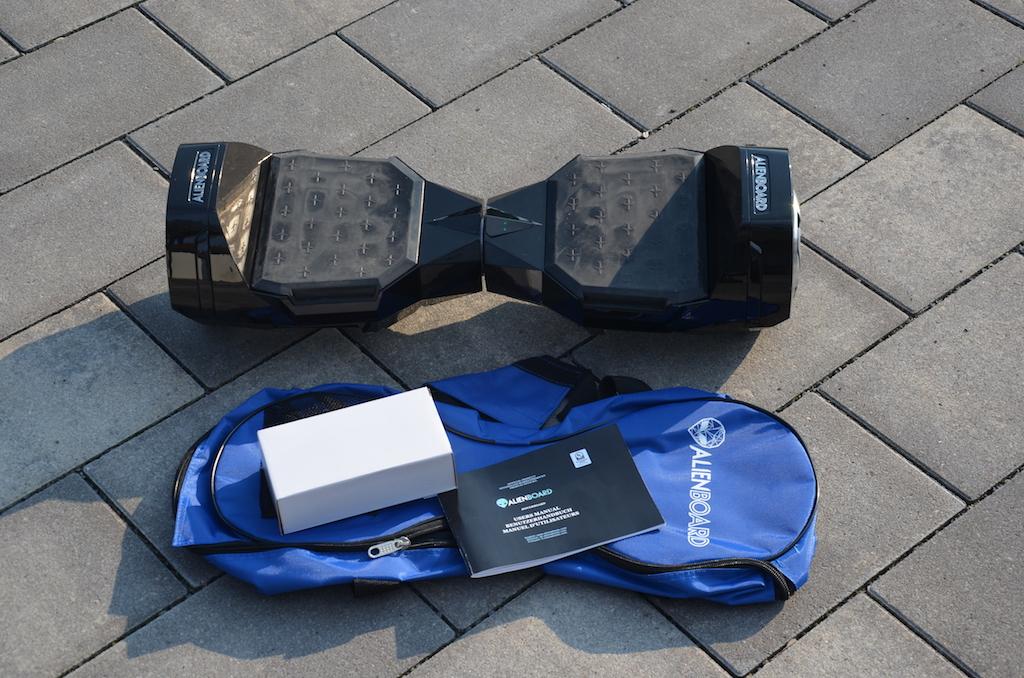 Hoverboard Review Alienboard Batwings Mit Bluetooth Lautsprecher