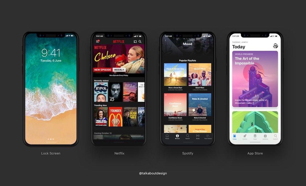 Ohne Home-Button: Gesten für das iPhone 8