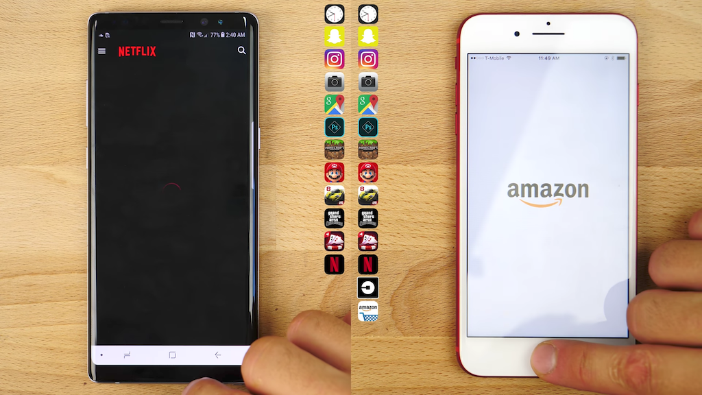 IPhone 7 Plus Vs Galaxy Note 8