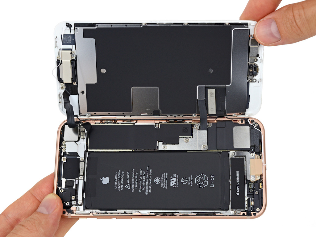 iPhone 8 Teardown ist da: Ein Blick ins ...