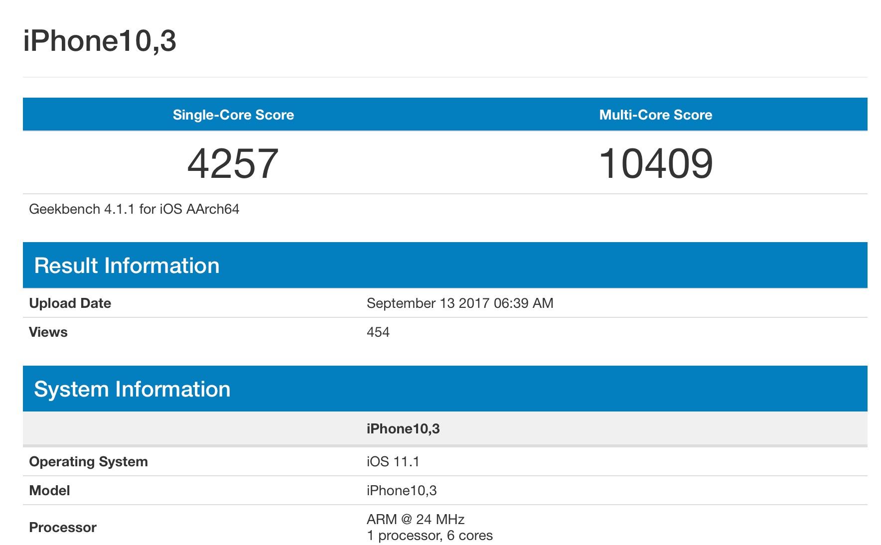 Apples A11-Chip: Auf Augenhöhe mit dem MacBook Pro