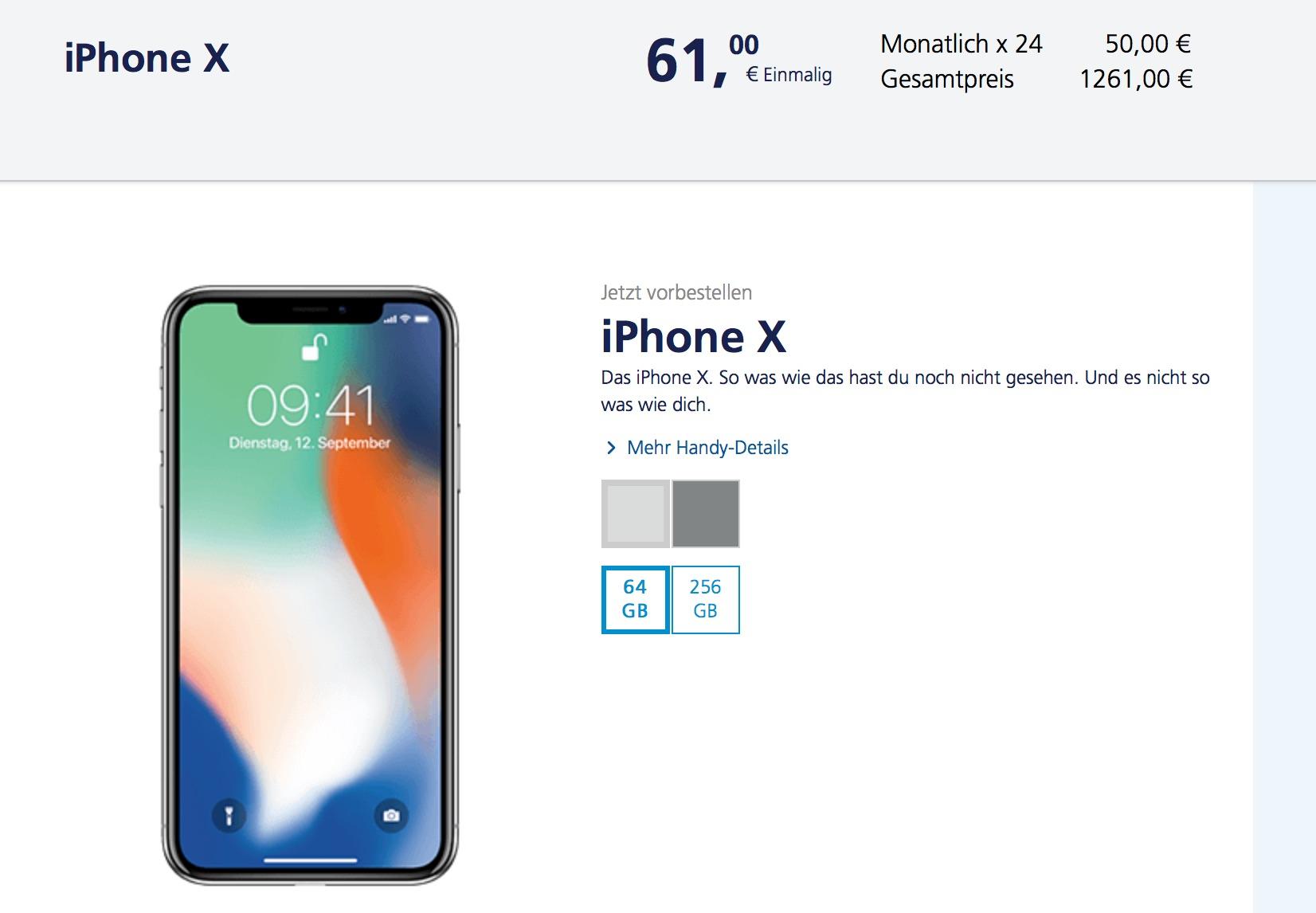 O Iphone X Finanzierung