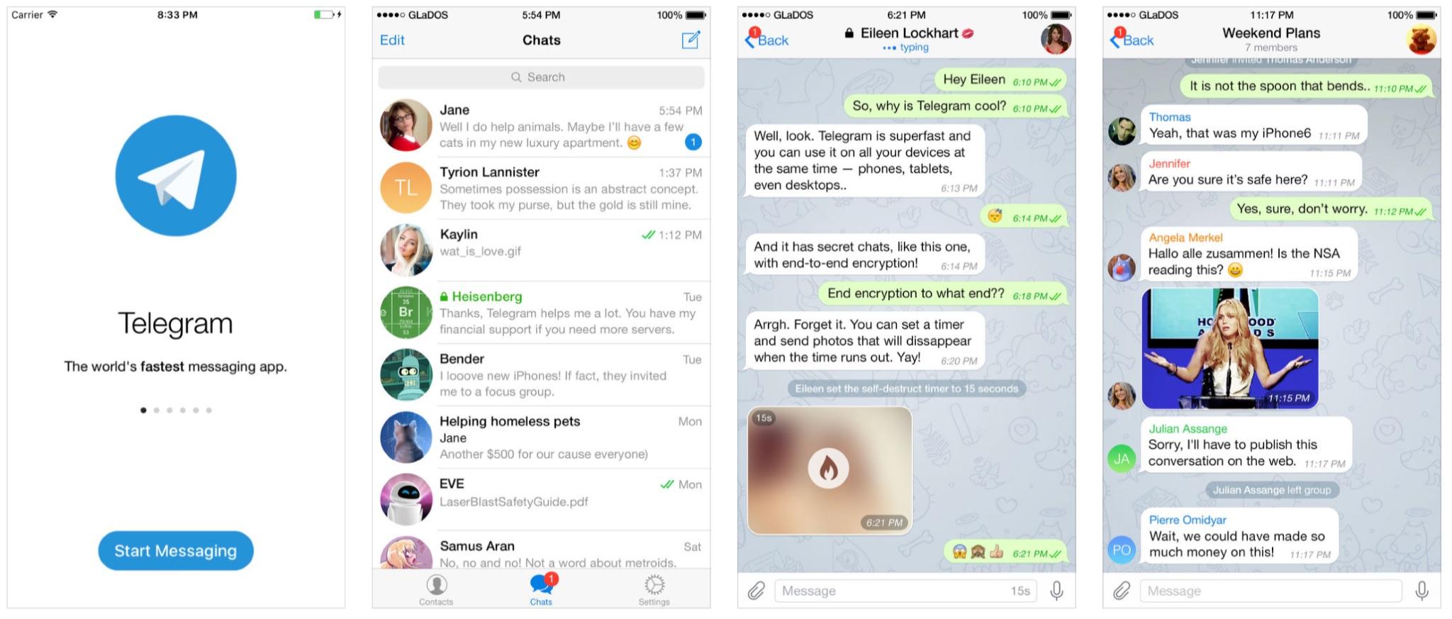 Telegram Messenger Update bringt Verbesserungen beim Gruppen Chat ...