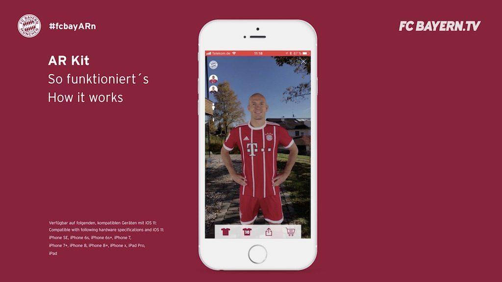 fc bayern m nchen app update bringt augmented reality funktionen macerkopf. Black Bedroom Furniture Sets. Home Design Ideas