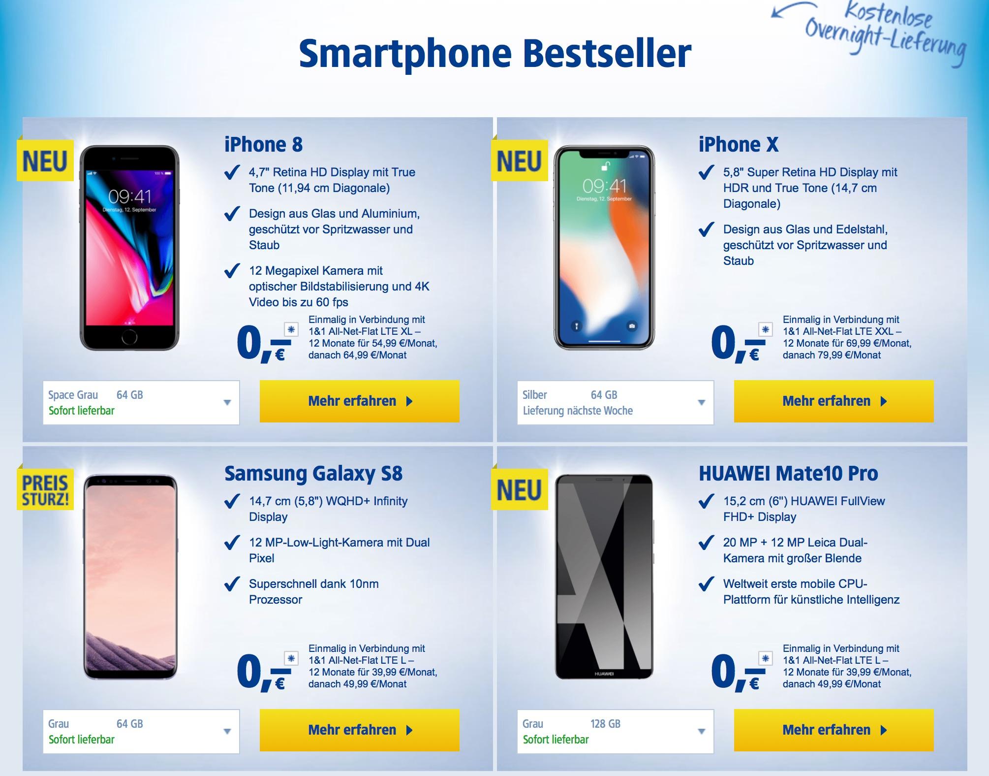 iphone 8 und preise