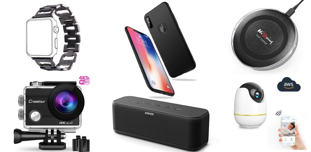 Amazon Blitzangebote: iPhone X Hüllen + Panzerglas, Anker ...
