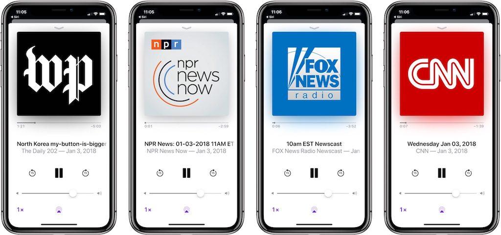 Neu in iOS 11.2.5: Siri bietet nun Podcast-Nachrichten › Macerkopf