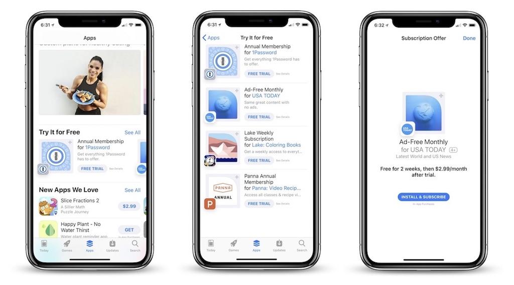 app store apple bewirbt abo apps mit kostenloser testphase macerkopf. Black Bedroom Furniture Sets. Home Design Ideas