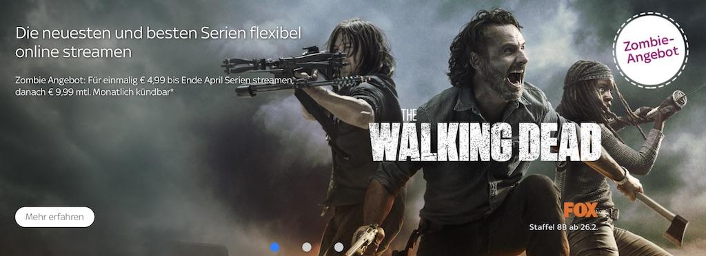 The Walking Dead Sky Ticket