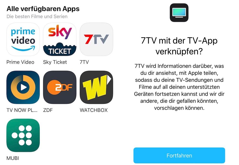TV App: Apple integriert 7TV › Macerkopf