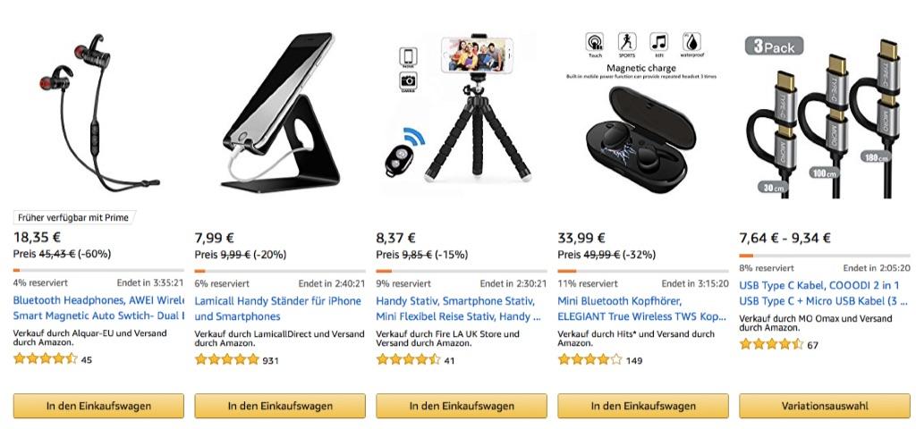 Amazon Blitzangebote: Saugroboter, 4K Actioncams, LED ...