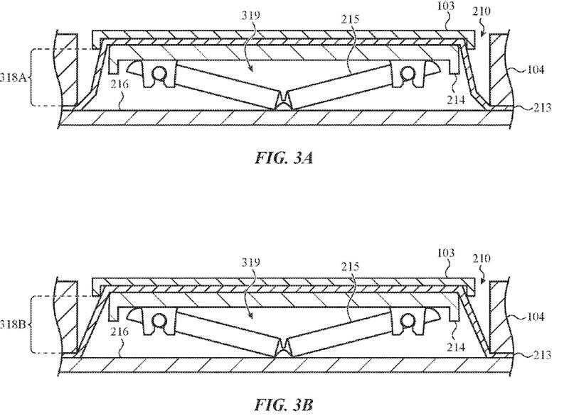 Neues Patent von Apple bekämpft Krümel in der Tastatur