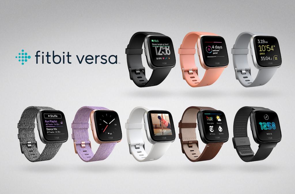 fitbit versa neue smartwatch erinnert an die apple watch. Black Bedroom Furniture Sets. Home Design Ideas