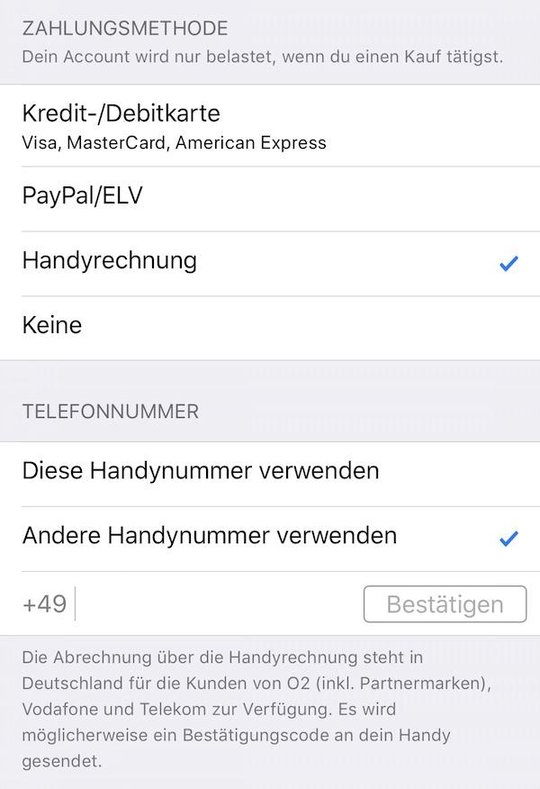 Per Handyrechnung Bezahlen Shops