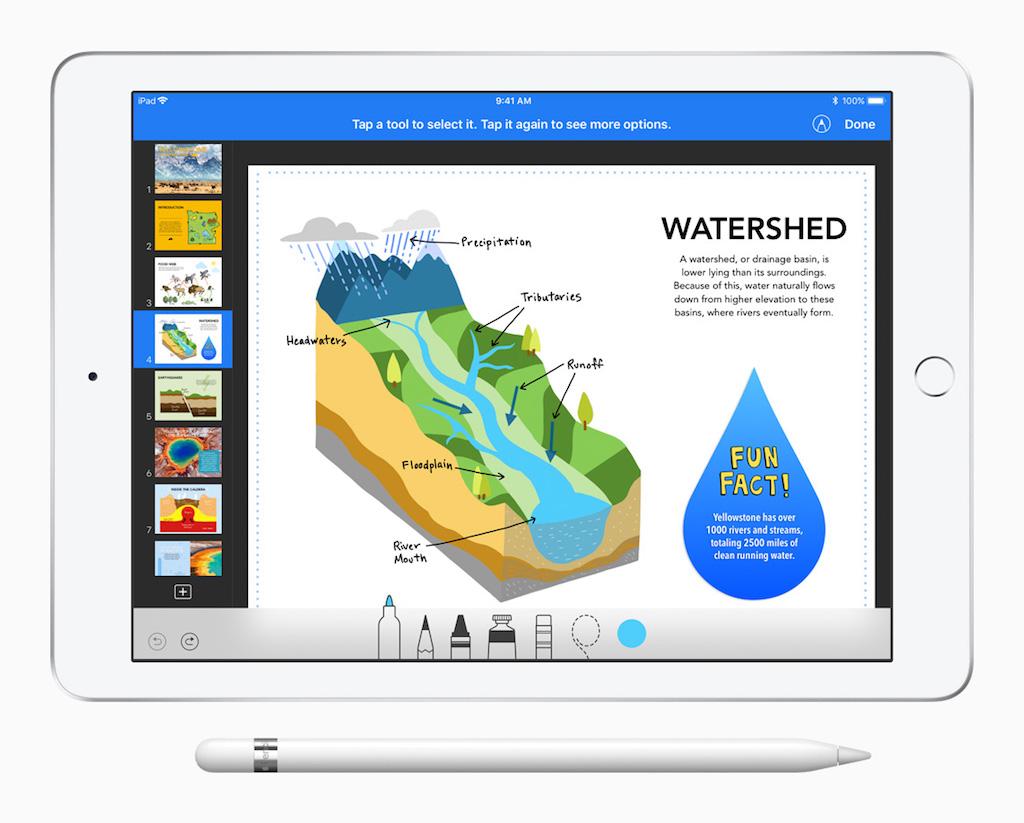 iWork Update unterstützt den Apple Pencil und bringt neue Features ...