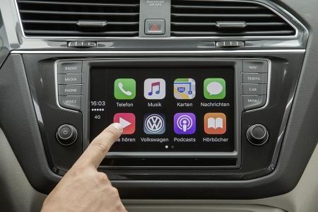 volkswagen setzt auf wireless carplay toyota erweitert. Black Bedroom Furniture Sets. Home Design Ideas