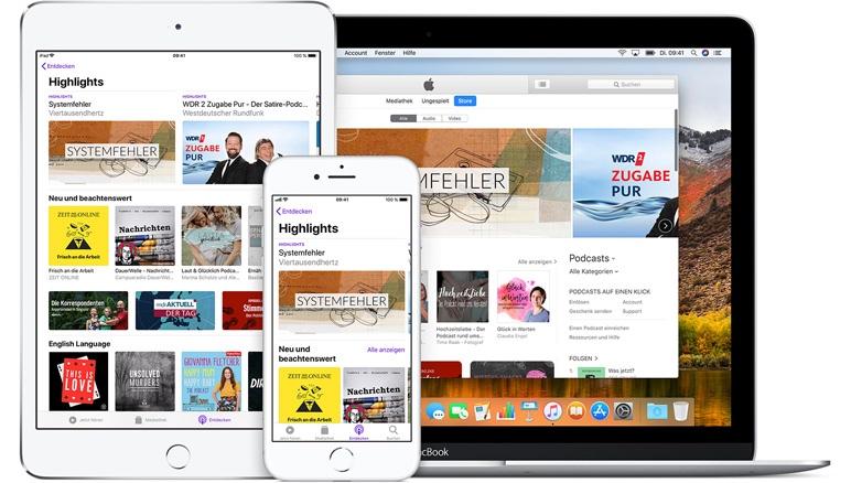 Podcast-Meilenstein bei Apple: 50 Milliarden Downloads