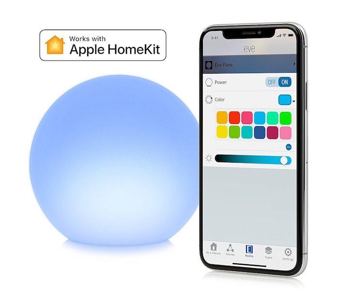 eve flare portable homekit led leuchte l sst sich ab sofort bestellen macerkopf. Black Bedroom Furniture Sets. Home Design Ideas