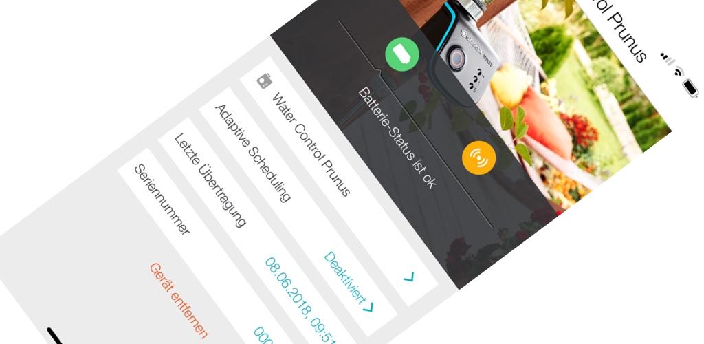 gardena smart system app support f r iphone x ist da macerkopf. Black Bedroom Furniture Sets. Home Design Ideas