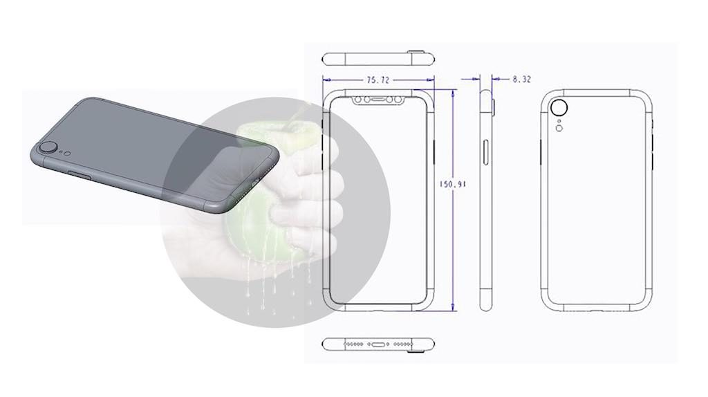 iPhone 9: schematische Skizze und Renderings zeigen 6,1 Zoll LCD ...