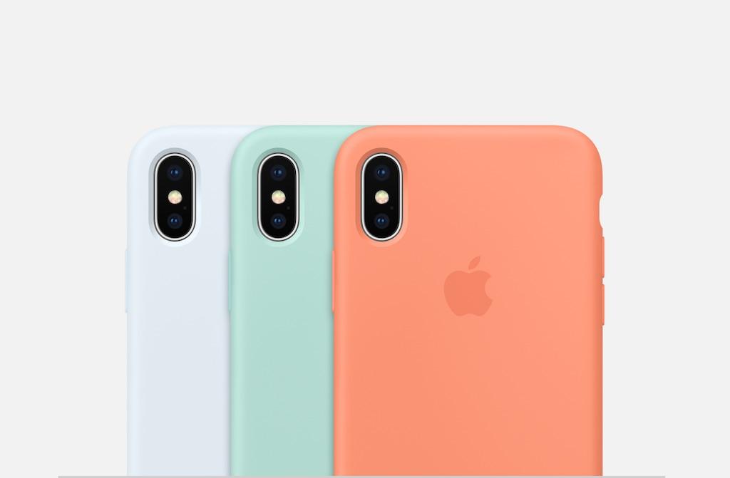 apple pr sentiert neue farben f r die iphone x 8 7 silikon. Black Bedroom Furniture Sets. Home Design Ideas