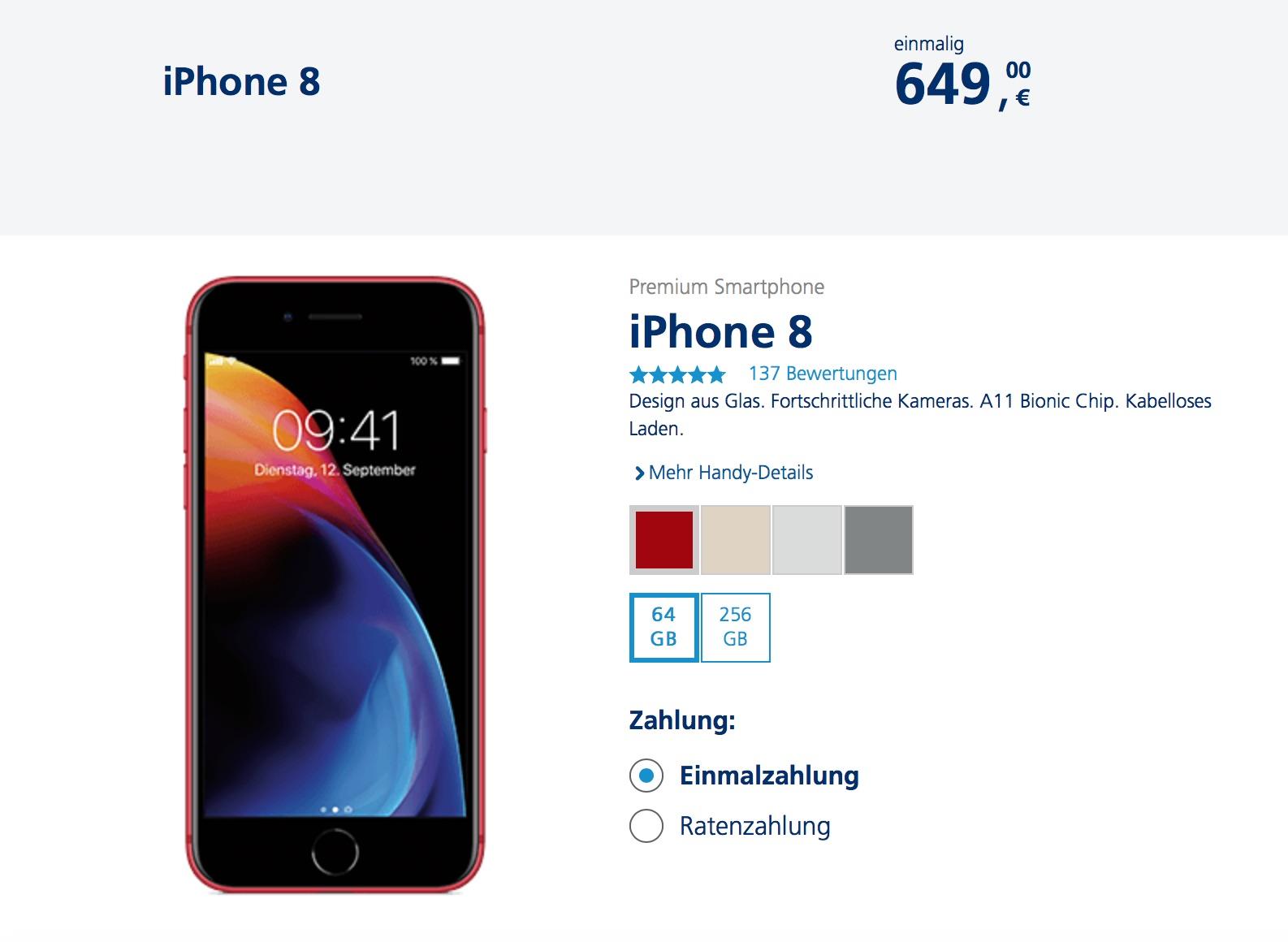 iphone x mit raten kaufen
