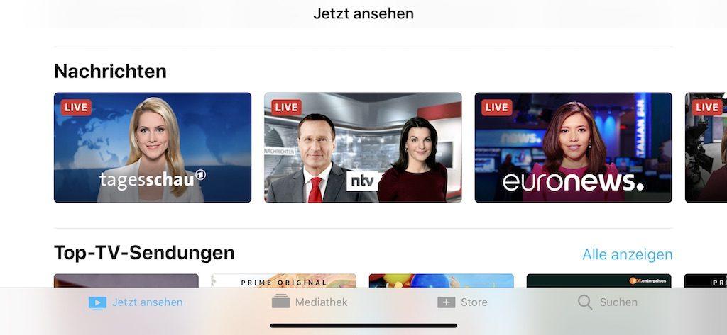 Apple Nachrichten