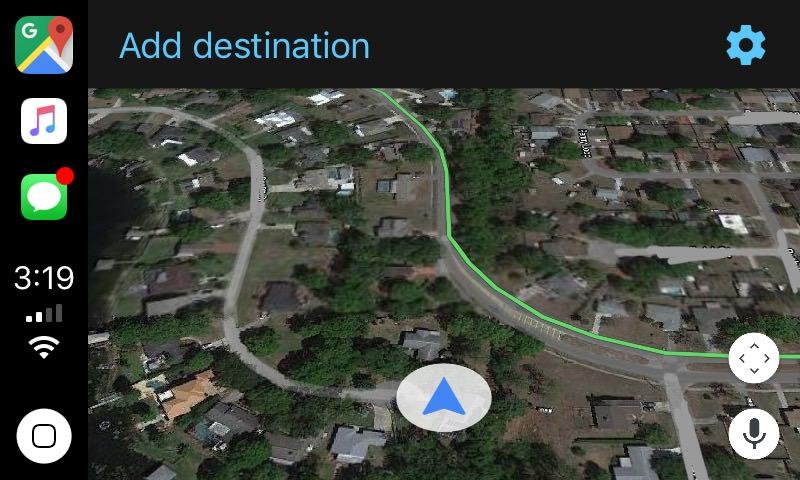 Carplay Erste Screenshots Zeigen Google Maps Beta Mit Carplay