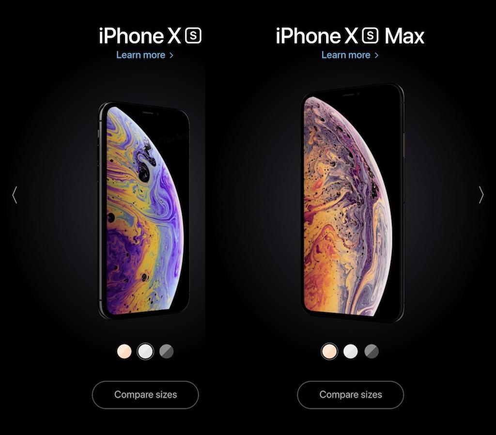 IPHONE X XS GRÖßENVERGLEICH
