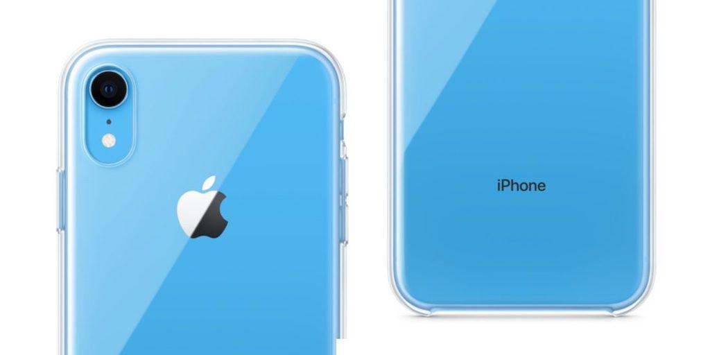 iphone xr apple wird eigenes clear case anbieten macerkopf. Black Bedroom Furniture Sets. Home Design Ideas